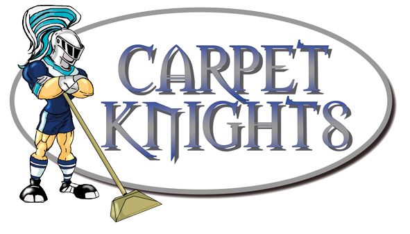 Carpet Knights, carpet, rug and upholstery cleaning Cornwall Logo